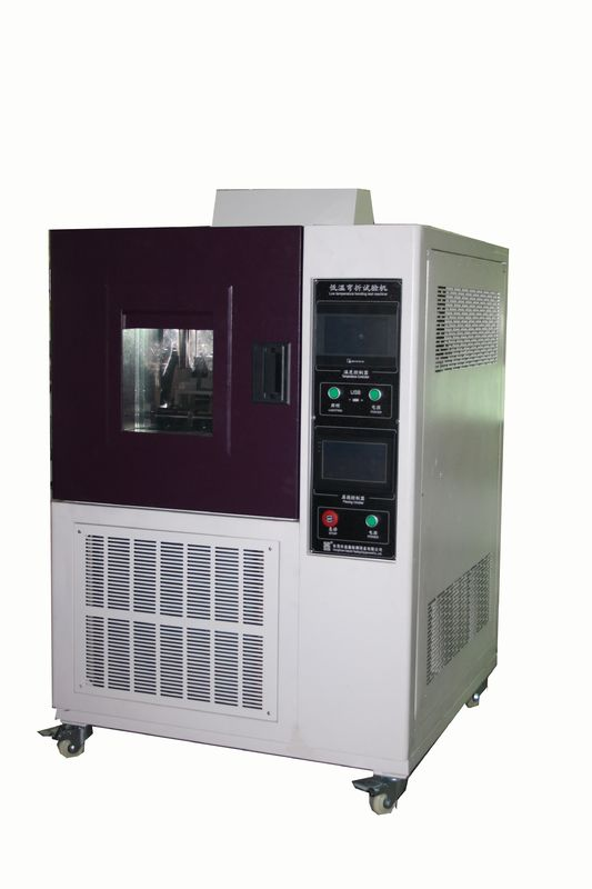 Vertical Leather Testing Equipment  ,  Low Temperature Leather Bally Flex Test Chamber